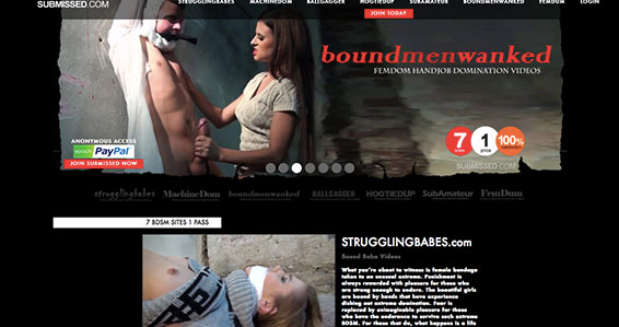 Amazing xxx site if you like amazing BDSM material
