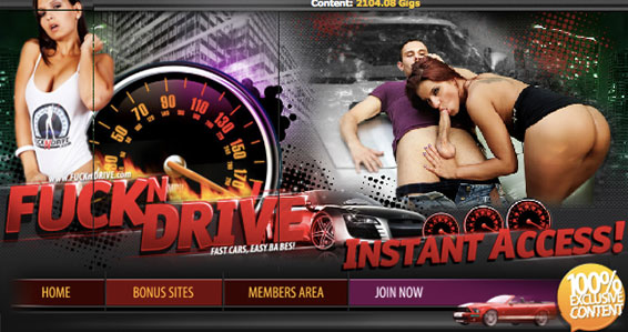 Nice xxx site offering class-A car flicks
