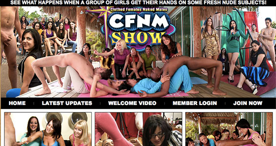 Most popular adult site to enjoy hot CFNM Hd porn videos