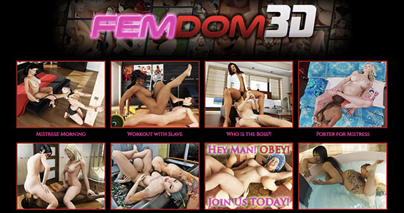 Best porn site to enjoy some hot femdom HD videos