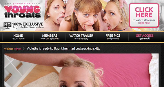 Nice adult website to get top notch Deep Throat stuff