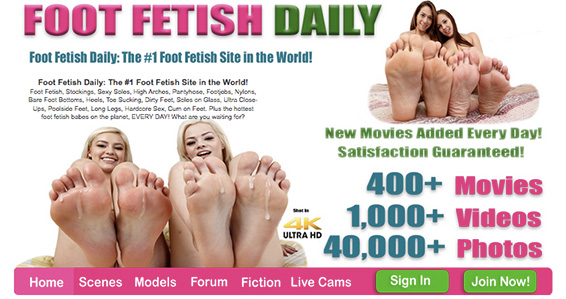 Most popular adult site to enjoy awesome foot fetish flicks