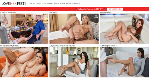 Great xxx website to enjoy some some fine foot fetish flicks